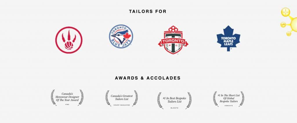 Rated Canada's Top Custom Tailors
